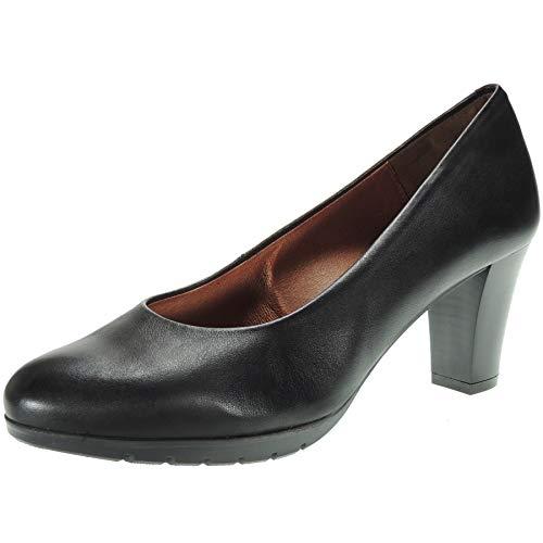Desiree 2220V Zapato Salón Piel Flexible Piso Goma