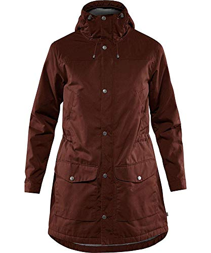 Fjallraven Damen Greenland Winter Parka W Sport Jacket, Maroon, XS