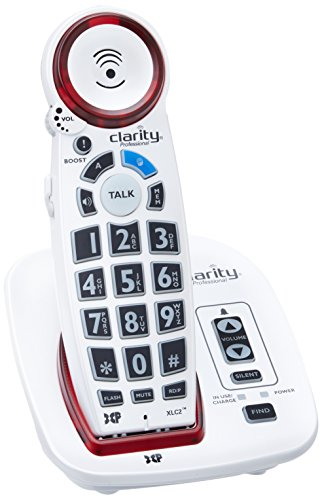 Clarity XLC2+ Amplified Cordless Big Button Speakerphone