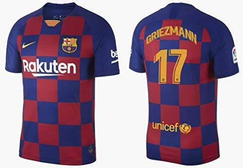 F.C. Barcelona Trikot Herren 2019-2020 Home La Liga - Griezmann 17 (L)