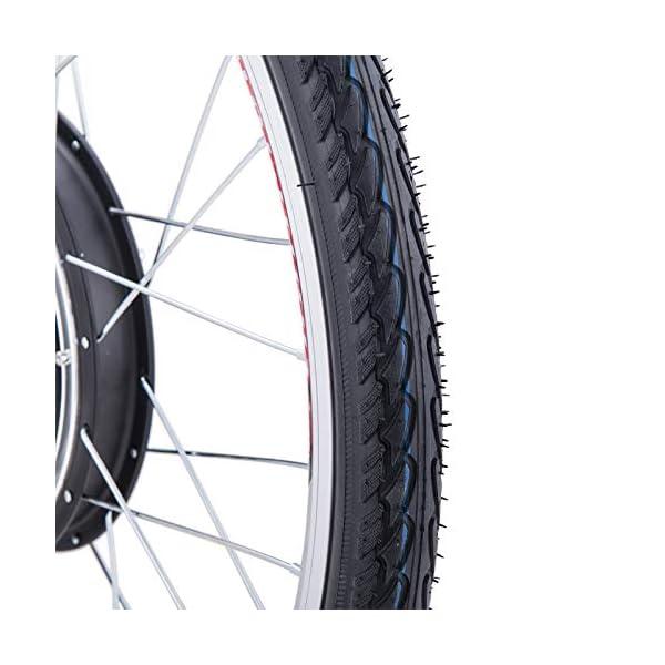 "Electric Bikes Sfeomi 36V 500W 26"" Electronic Bike Conversion Kit Brushless Motor Hub Control E-Bike Conversion Kit Front/Rear Wheels…"