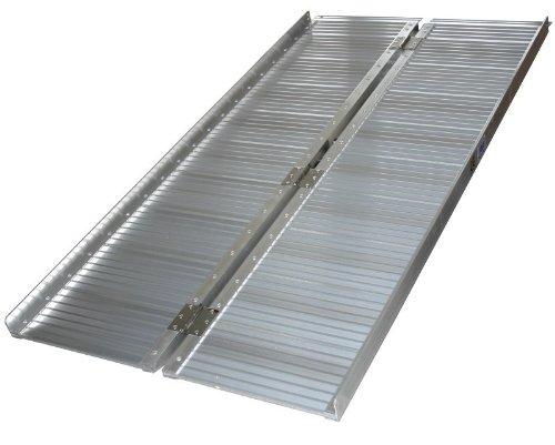 Klappbare Aluminium Rollstuhlrampe 122 cm
