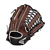 EASTON EL JEFE Slowpitch Softball Glove | 2021 | Right-Hand Throw | 13.5' | All Position Glove | Trap Web | Diamond Pro Steer Leather | Oiled Cowhide Palm + Lining | Deep Pocket | EJ1350SP