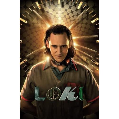 Loki: Writing Journal • Notebook • Diary • Notepad • Tom Hiddleston