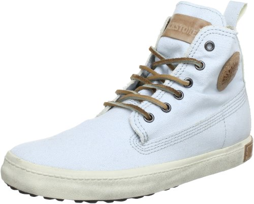 Blackstone Canvas FL86, Damen Sneaker, Weiß (Down Blue), EU 36