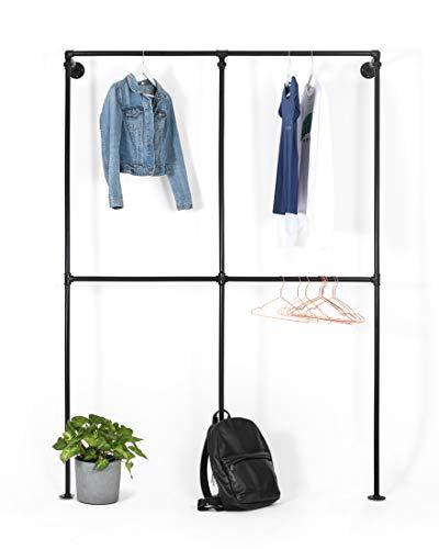 RSR Hangers Kleiderstange Kleiderschrank begehbarer Kleiderschranksystem Stangensystem System Garderobe Regalsystem Kleiderständer RSR3
