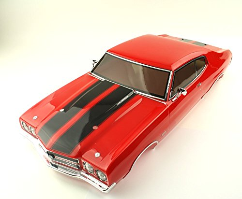 Kyosho 1/10 Body Chevy Chevelle SS 454 LS6 1970 Rot 200mm - LED RPD®