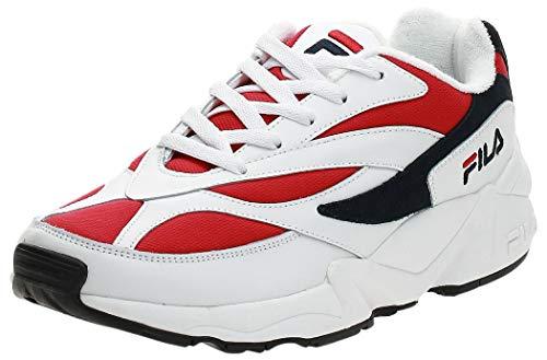 Fila Vintage Hombre 94 Zapatillas de Deporte Bajas, Blanco, 45 EU