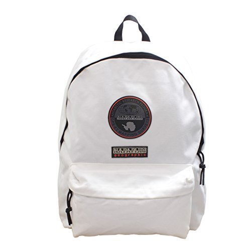 Napapijri Bags Zaino Casual, 40 cm, 22 liters, Bianco (Bright White)
