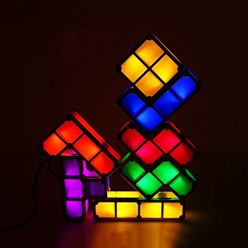 Stackable Tetris Lamp