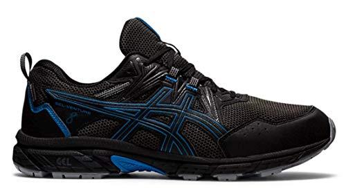 ASICS Gel-Venture 8 WP, Zapatillas para Correr Hombre, Black Reborn Blue, 44 EU
