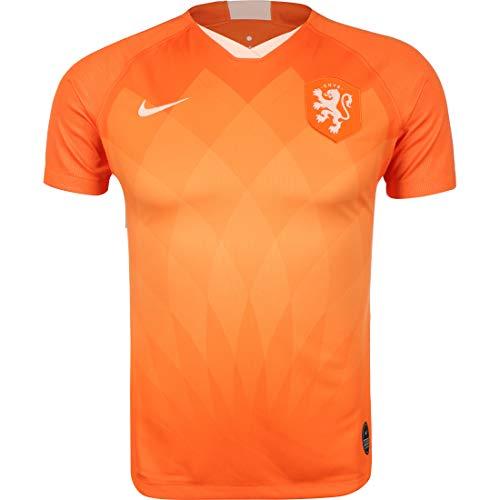 Nike Damen Knvb W Nk BRT Stad JSY Ss Hm Unterhemd, Sicherheit, orange/Orange, Quarz, M