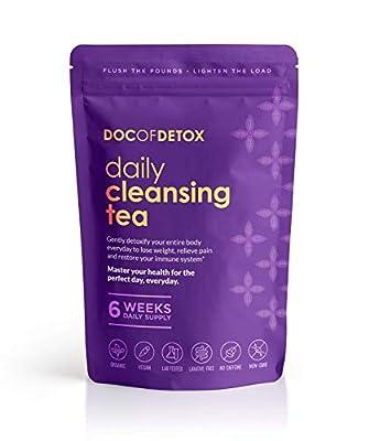 Doc of Detox 6-Week Daily Detox Tea, Weight Loss Tea, Teatox Herbal Tea for Cleanse from Doc Of Detox
