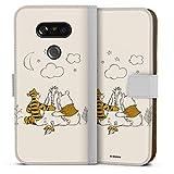 DeinDesign Étui Compatible avec LG G5 Étui Folio Étui magnétique Winnie l'ourson Produit sous...