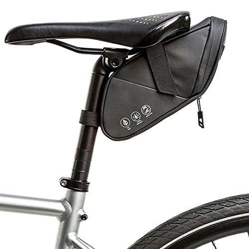 Bolsa de herramientas para tubo interior de bicicl Bolsa de montar de ciclismo Accesorios de bicicleta a prueba de lluvia reflectante MTB Herramientas de bicicleta Set Pannier canal trasero co