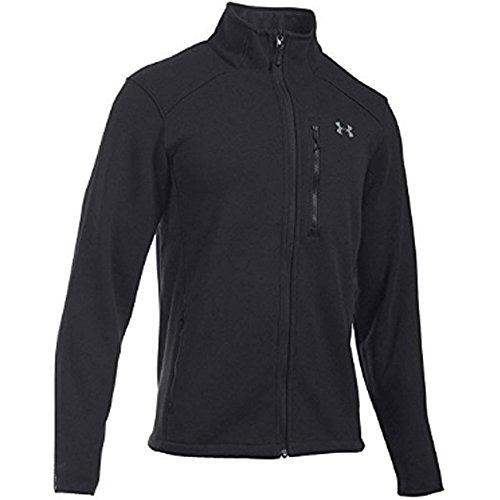 Under Armour Men's Coldgear Granite Fleece Jacket,  X-Large, Black