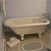 """product image for Monarch 66"""" x 30"""" Bathtub Color: Brass"""