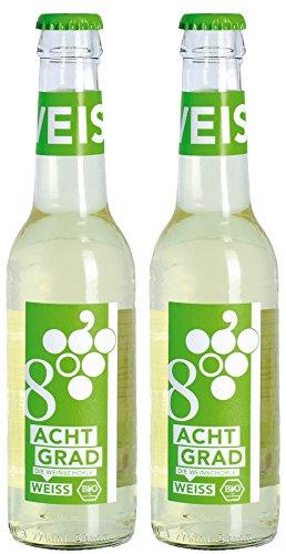 Acht Grad Bio ACHT GRAD - Die Weinschorle. weiß (2 x 275 ml)