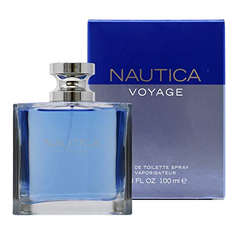 NAUTICA VOYAGE EAU DE TOILETTE SPRAY 100ml 3.4 FL OZ (Original)
