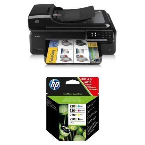 HP Officejet 7500 A Pack - Impresora multifunción de tinta + Pack ...