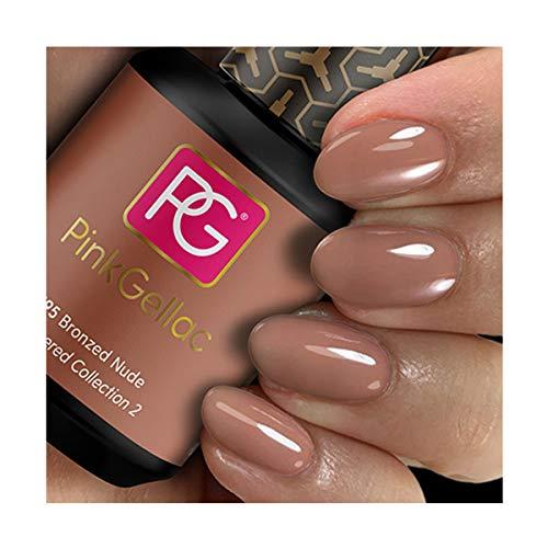 Pink Gellac Gel Nagellak Kleur 195 Bronzed Nude