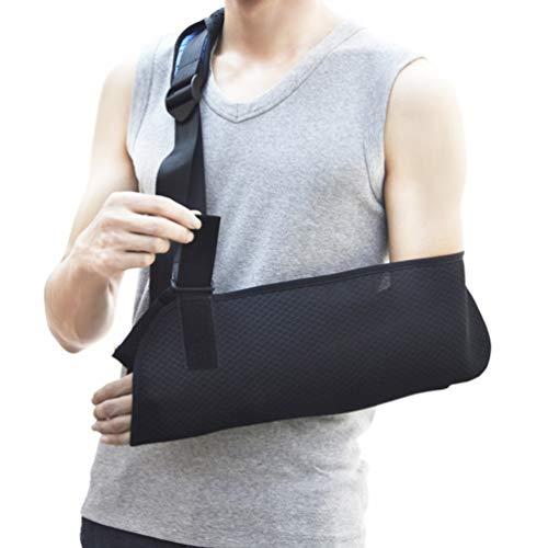 HEALLILY Arm Sling Shoulder Immobilizer Adjustable Medical Sling Wrist Elbow Forearm Support for Broken Fractured Bones for Adult Kids - Size S