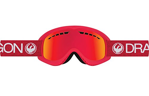Dragon Alliance DX Ski Goggles, Red
