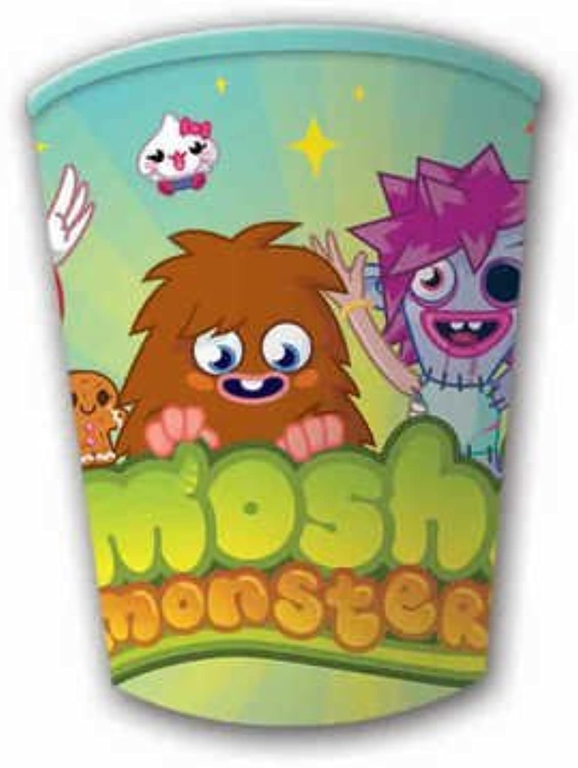 Moshi Monsters 8 Party Cups by Gemma