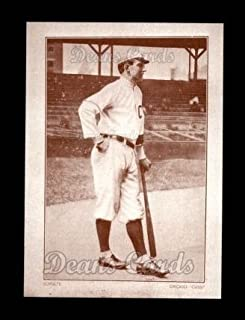 1910 Plow Boy Tobacco Reprint # 31 Wildfire Schulte Chicago Cubs (Baseball Card) Dean's Cards 8 - NM/MT Cubs