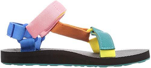 Teva Women's Heels Universal Sandal, 90s Multi, 7