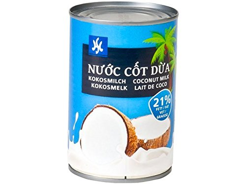 Kokosnuss Creme Inhalt. 87% Kokosextrakt, Kokosmilch, dick 400ml