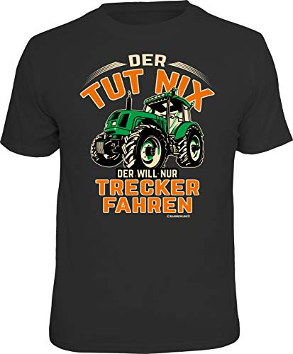 Das T-Shirt für den aktiven Landwirt: Der TUT nix - Der Will nur Trecker Fahren XL, Nr.6307