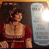 Giacomo Puccini , Maria Callas , Carlo Bergonzi , Tito Gobbi , Orchestre De La Socit Des Concerts Du Conservatoire , Georges Prtre - Tosca - His Master's Voice - SAN-149-50