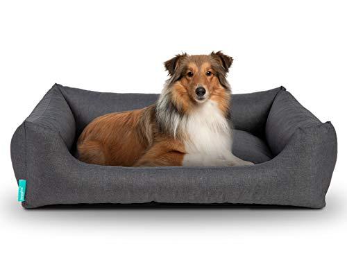 Hyggins Dreamer Pure Outdoor Hundebett | wasserabweisendes Hundekörbchen, pflegeleicht...