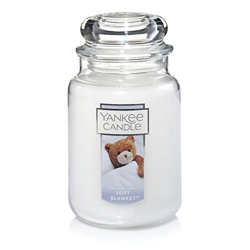 Yankee Candle Soft Blanket Scented Premium Paraffin Grade Candle Wax with up to 150 Hour Burn Time, Large Jar