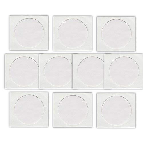 MCalle NFC-Tag ntag215 Chip Sticker Rund Weiß 25mm 540 Byte (10)