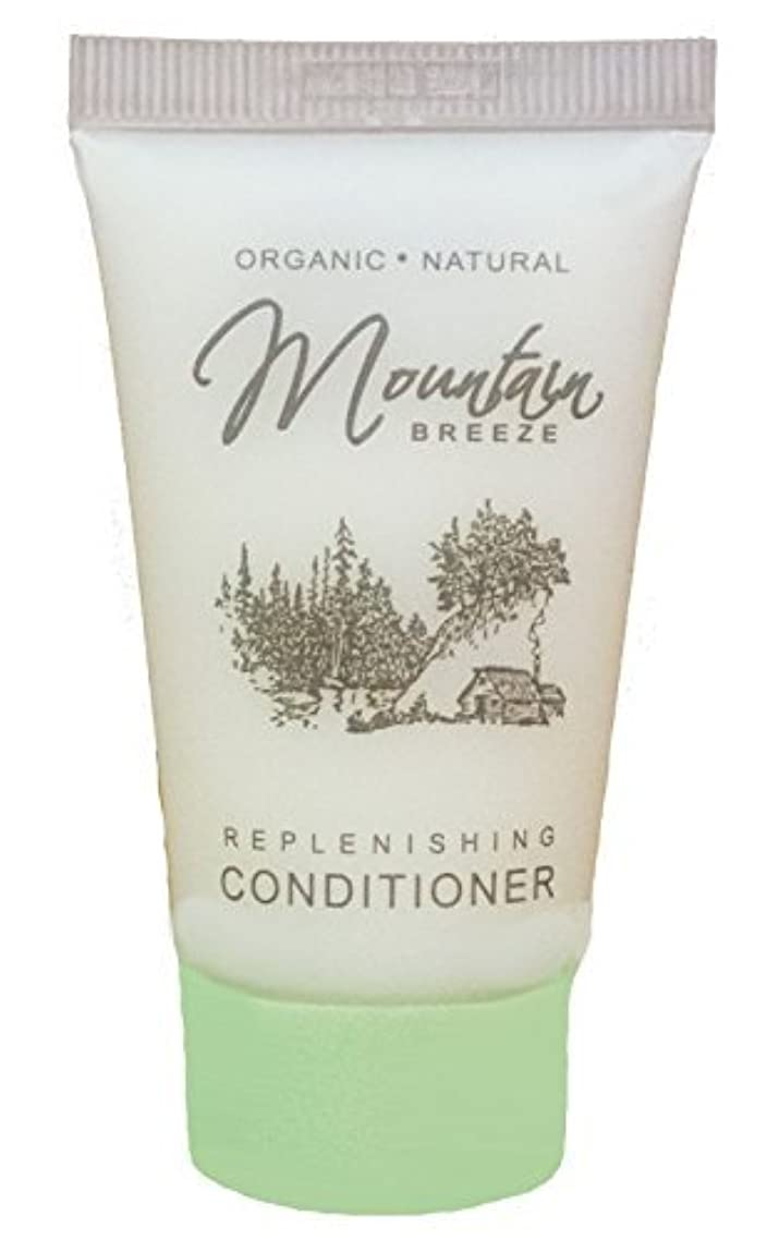 Mountain Breeze Conditioner, Hotel Toiletries Bulk,1 oz, Travel Size Conditioner, Amenities for Guest Hospitality, Motel, AirBnB, Gym, Luxury (Case of 300)