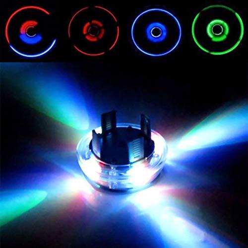 Heylas Auto LED Solar Energie Blinklicht Reifen Felgenlampe LED Ventilkappe Radbeleuchtung Licht Felgenlicht Tunin Auto Felgen Beleuchtung