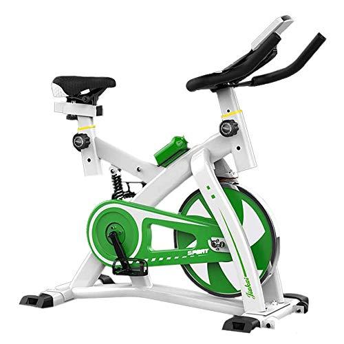 La bicicleta estática cubierta ciclo de la bici, Inmóvil Cinturón de bicicletas Bicicleta de impulso de giro Sensor de Pulso Monitor LCD cubierta bici de ciclo de la bici de ejercicio w / ajustable de