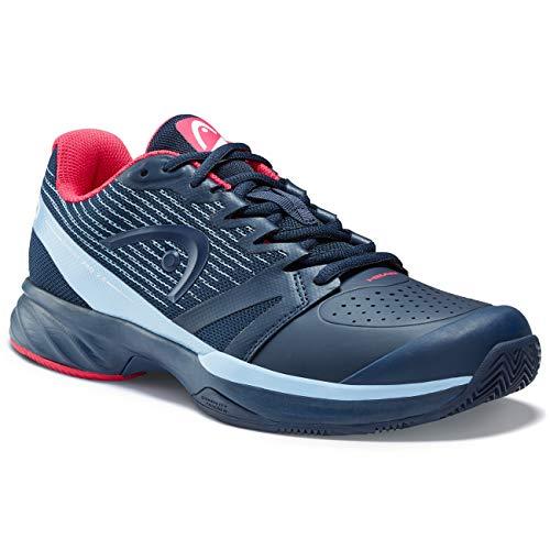 Head Sprint Pro 2.5 Clay - Zapatillas de tenis para mujer, Mujer, 274119-045, Dark Blue/Magenta, 37