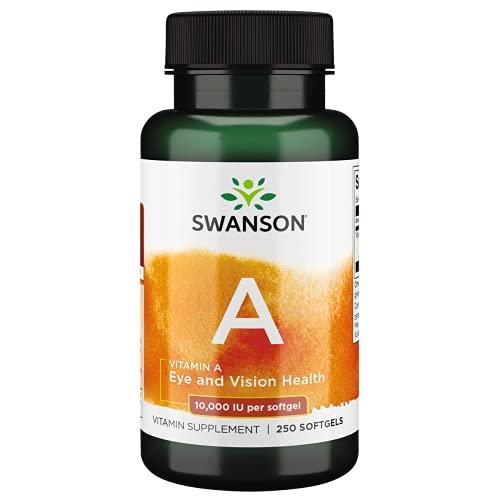 Swanson 10000 Iu Vitamina A 250 Softgels - 250 g