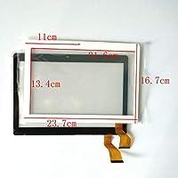 白色 EUTOPING R 新しい 10.1 インチ GT10PG127 V2.0 Camera Hole 11cm デジタル化タッチパネルはタブレットにも 交換修理用 できます