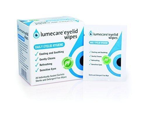 Lumecare Augenlid Wischtücher 5er pack 100 tücher