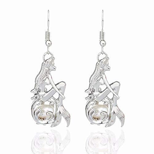 SANDIN Ohrh?nger Ohrringe, Damen Schmuck, Geschenk Damen Ohrringe Silber Mode Ohrring zubeh?r Ohrringe H?ngend