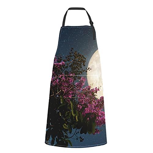 delantal de flores de la marca ENEVOTX