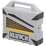 Klutch Titanium-Coated Drill Bit Set - 115-Pc.