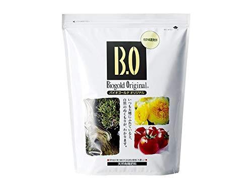 Geosism & Nature Biogold Original Japonais, NPK 5.5-6.5-3.5 (2.4 kg), Engrais d'été granulaire pour bonsaï