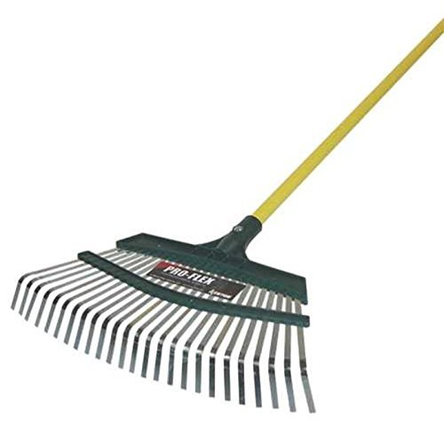 Midwest Rake Company GIDDS2-287009 Kenyon Pro-Flex Leaf 18' Aluminum Rake with 48' Handle