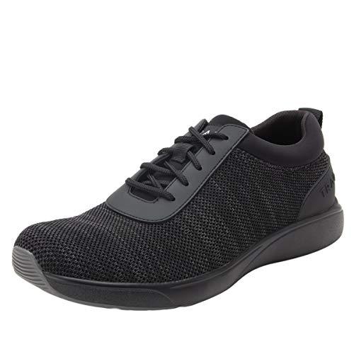 TRAQ BY ALEGRIA Quantum Mens Smart Walking Shoe Black Out 9.5 M US