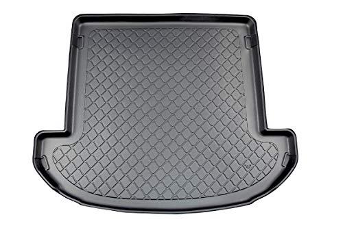 MTM Bandeja Maletero Santa Fe IV (TM) 7 Seats 2018- a Medida, Alfombra Cubeta Protectora Antideslizante. Uso: Version 7 plazas; III Fila de Asientos Bajada, cód. 7840